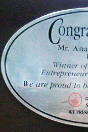 Entrepreneur of the Year - 1997