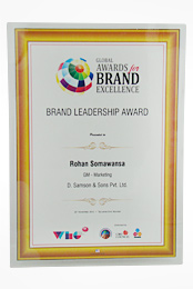 Brand Leadership Award - (Mr. Rohan Somawansa)