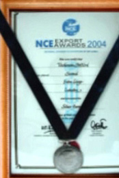 Exporter of the Year - 2004 (NCE of Sri Lanka)